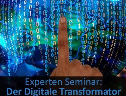 Der Digitale Transformator, Experten Seminar 24./25.10.2018 in Hamburg
